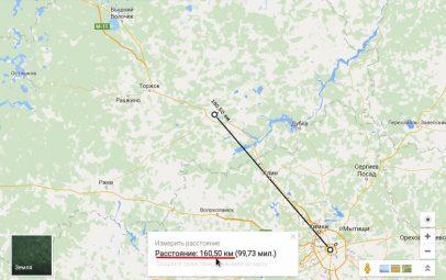 Как измерить расстояние на карте — подробное описание