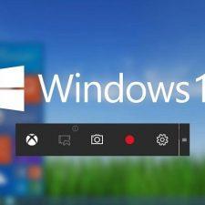 Запись экрана windows 10
