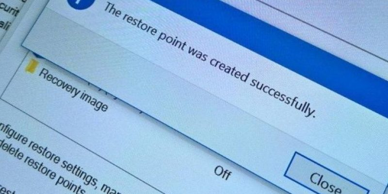 Как на Windows 10 откатить систему назад до точки восстановления