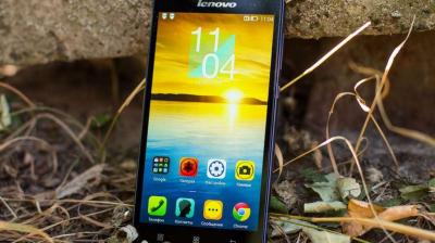 Lenovo S850 – бюджетный смартфон с качественным экраном и хорошей камерой